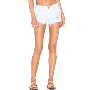 Rag & bone distressed white shorts NWT Sz 27